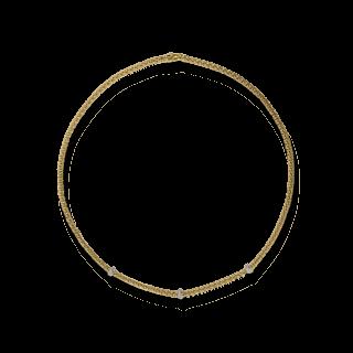 Fope Halskette Loop Gelbgold 710C-BBR_GG