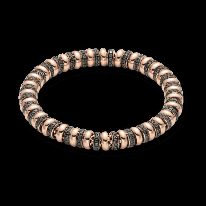 Armband Fope Flex'it Solo aus 750 Roségold mit mehreren Brillanten (3,47 Karat) Größe L