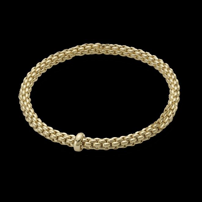 Armband Fope Flex'it Solo aus 750 Gelbgold Größe XS