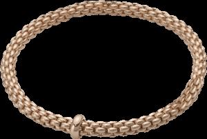 Armband Fope Flex'it Solo aus 750 Roségold Größe XS