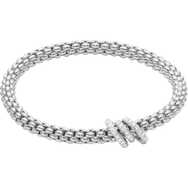 Fope Armband Flex'it Solo 652B-PAVEM_WG
