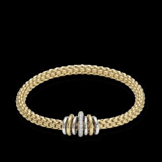Fope Armband Flex'it Solo Gelbgold 619B-BBRM_GG