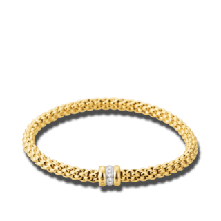 Fope Armband Flex'it Solo Gelbgold 621B-BBRL_GG