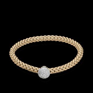 Fope Armband Flex'it Solo Gelbgold 647B-PAVEM_GG