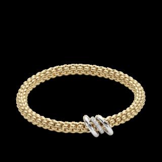 Fope Armband Flex'it Solo Gelbgold 652B-BBRL_GG