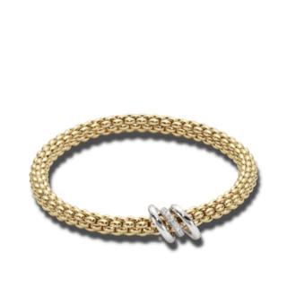Fope Armband Flex'it Solo Gelbgold 652B-BBRM_GG