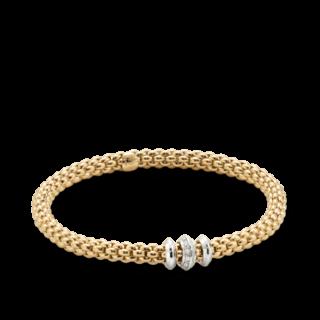Fope Armband Flex'it Solo Gelbgold 653B-BBRL_GG