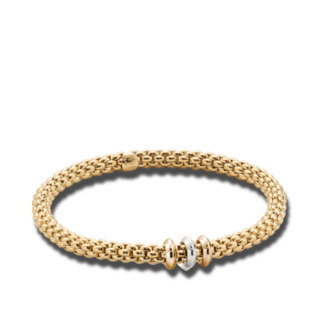 Fope Armband Flex'it Solo Gelbgold 653BL_GG