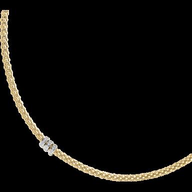 Fope Halskette Flex'it Solo Gelbgold 623C-BBR_GG