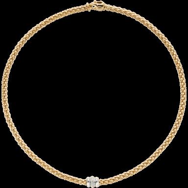 Fope Halskette Flex'it Solo Gelbgold 653C-BBR_GG