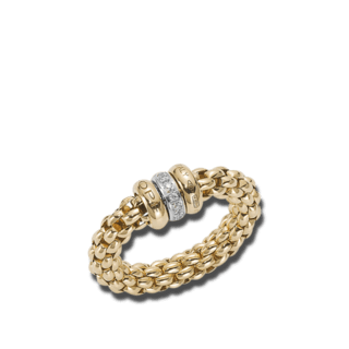 Fope Ring Flex'it Solo Gelbgold AN626-BBRL_GG