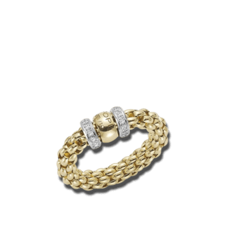 Fope Ring Flex'it Solo Gelbgold AN627-BBRM_GG
