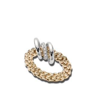 Fope Ring Flex'it Solo Gelbgold AN652-BBRM_GG