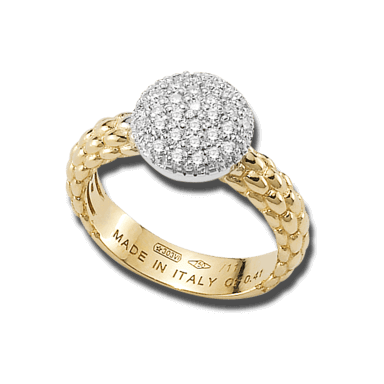 Fope Ring Flex'it Solo AN648-PAVE_GG