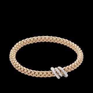 Fope Armband Flex'it Solo Roségold 652B-PAVEM_RG
