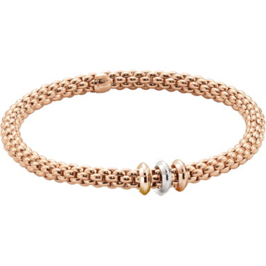 Fope Armband Flex'it Solo Roségold 653BS_RG