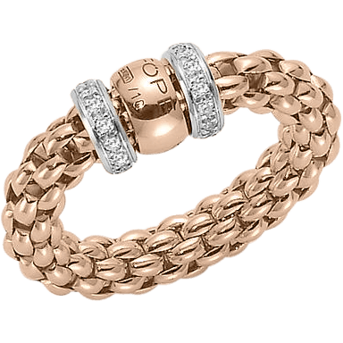 Fope Ring Flex'it Solo Roségold AN627-BBRS_RG