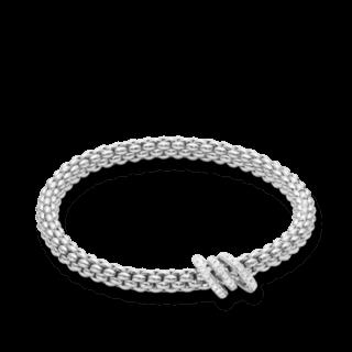 Fope Armband Flex'it Solo Weißgold 652B-PAVEM_WG