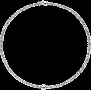 Halskette Fope Solo aus 750 Weißgold
