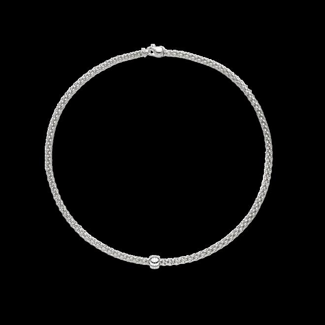 Halskette Fope Solo aus 750 Weißgold bei Brogle