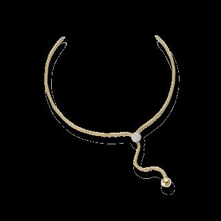 Fope Halskette mit Anhänger Flex'it Solo 650-PAVE_GG