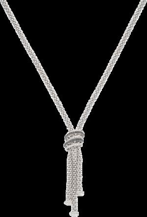 Halskette Fope Solo Mialuce aus 750 Weißgold mit mehreren Brillanten (1,69 Karat)