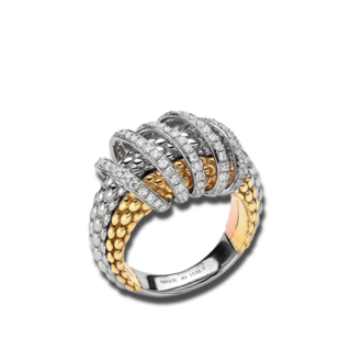 Fope Ring Solo Mialuce AN651-PAVE_GGWGRG