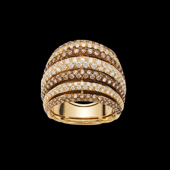 Ring Fope Solo Mialuce aus 750 Gelbgold mit mehreren Brillanten (2,36 Karat) bei Brogle