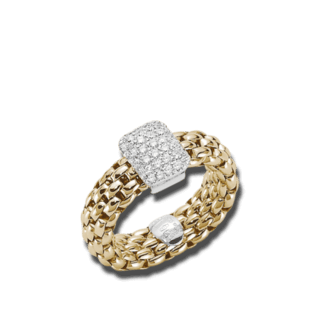 Fope Ring Flex'it Vendôme Gelbgold AN560-PAVES_GG