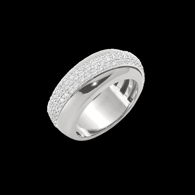 Ring Fope Vendôme aus 750 Weißgold mit mehreren Diamanten (0,53 Karat)