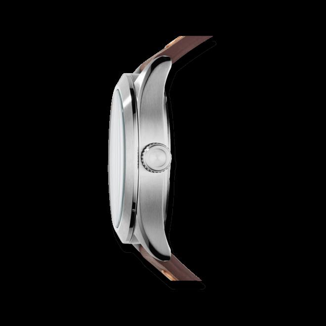 Herrenuhr Fossil The Aeroflite 44mm mit schwarzem Zifferblatt und Kalbsleder-Armband
