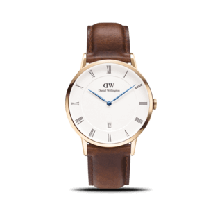 Daniel Wellington Herrenuhr Dapper St. Mawes DW00100083