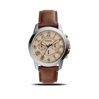 Fossil Herrenuhr Grant 44 mm FS5214