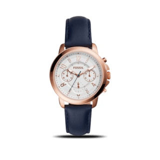 Fossil Damenuhr Gwynn Quarz Chronograph 38mm ES4040