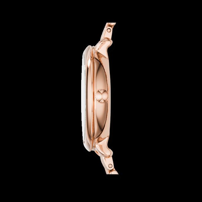 Damenuhr Fossil Jacqueline 26mm mit silberfarbenem Zifferblatt und Edelstahlarmband