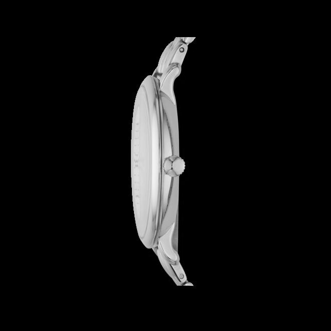 Damenuhr Fossil Jacqueline 36mm mit silberfarbenem Zifferblatt und Edelstahlarmband