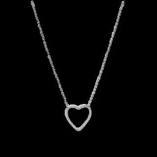 Fossil Halskette mit Anhänger Herz JFS00378040