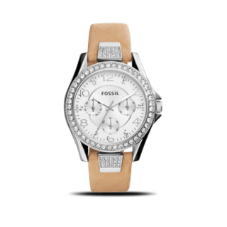 Fossil Damenuhr Riley 39mm ES3889