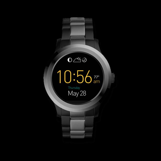 Smartwatch Fossil Q Founder mit Edelstahlarmband