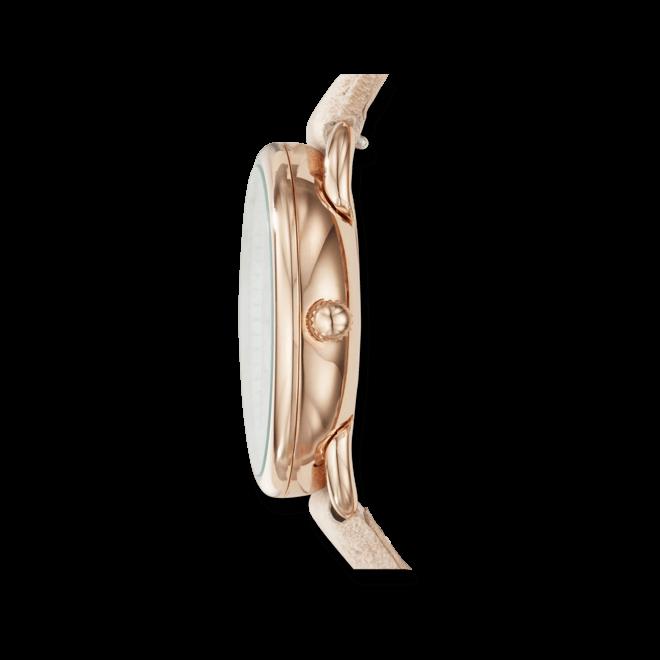 Damenuhr Fossil Tailor mit weißem Zifferblatt und Kalbsleder-Armband