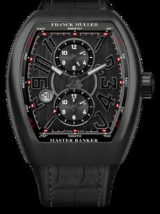 Franck Muller Master Banker 3 Zeitzonen 44x53,7mm