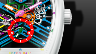 Franck Muller Vanguard Skeleton Colored Dream