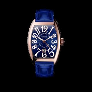 Franck Muller Damenuhr Cintrée Curvex Automatik Datum 7851-SC-DT-5N-BLUE-ALLBLUE