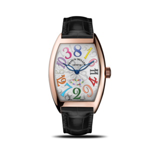 Franck Muller Armbanduhr Crazy Hours 5850-CH-COL-DRM-5N-BL-ALLBK