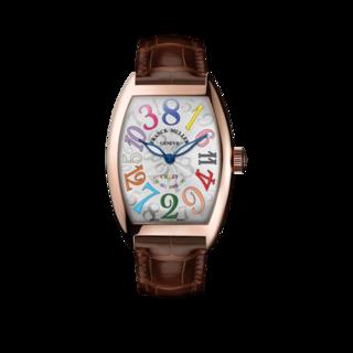 Franck Muller Armbanduhr Crazy Hours 5850-CH-COL-DRM-5N-BL-ALLBROWN