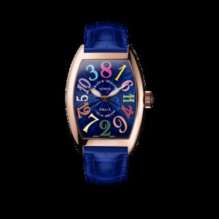 Franck Muller Armbanduhr Crazy Hours 5850-CH-COL-DRM-5N-BLUE-ALLBLUE