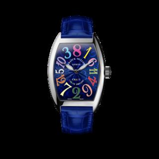 Franck Muller Armbanduhr Crazy Hours 5850-CH-COL-DRM-OG-BLUE-ALLBLUE