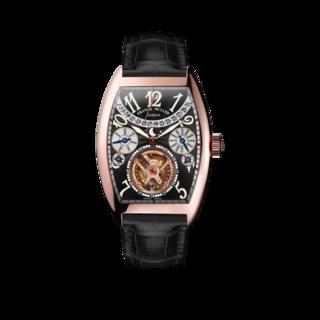 Franck Muller Armbanduhr Cintrée Curvex Handaufzug 7880-T-QP-5N-BK-ALLBK