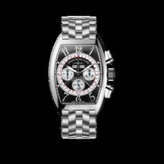 Franck Muller Armbanduhr Cintrée Curvex Master Calendar Chronograph 6850-CC-MC-AT-O-AC-BLACK