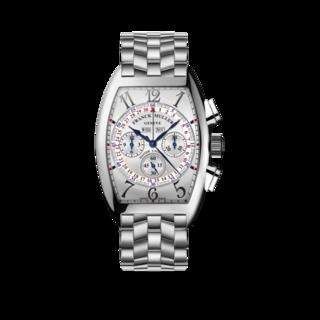 Franck Muller Armbanduhr Cintrée Curvex Master Calendar Chronograph 6850-CC-MC-AT-O-AC-BLANC